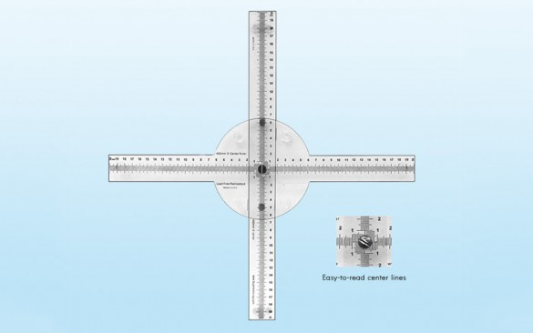 Quart X-Ray Ruler